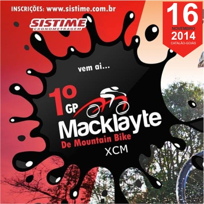 J� Est�o Abertas as Inscri��es do 1� GP Macklayte Bike de MTB XCM