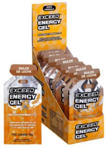 exceed energy gel doce de leite