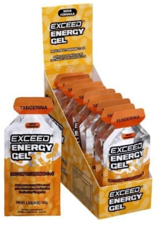 exceed energy gel tangerina