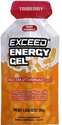 exceed enegy gel triberry