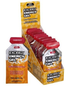 exceed energy gel triberry
