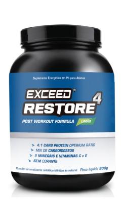 eceed restore 4 pós treino